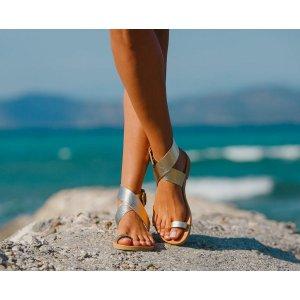 Sandale Grecesti Afrodita Aurii