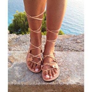 Sandale Dama Grecesti Dorotea Maro