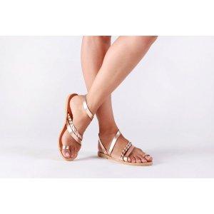Sandale Dama Grecesti Isadora Aurii