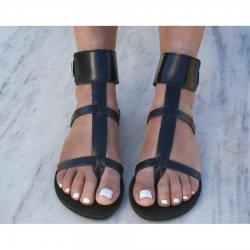Sandale Dama Grecesti Kalista Negre