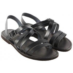 Sandale Barbatesti Piele Eliot Negre