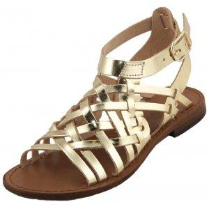 Sandale Romane de Dama Model Seraphina Auriu