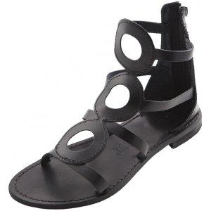Sandale Gladiator de Dama Model Camila Negru