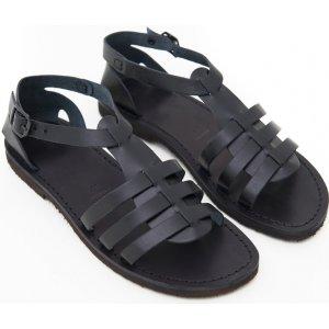 Sandale Romane de Dama Model Teresa Negru