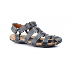 Sandale din Piele Barbatesti Pepe Agullo Negre