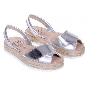 Sandale Dama Spania Piele Avarca Argento A