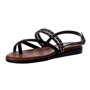Sandale Piele Alizeu Negre Blusandal