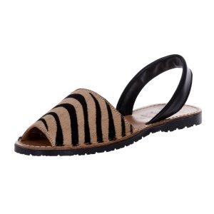 Sandale Dama Avarca Zebra Brown