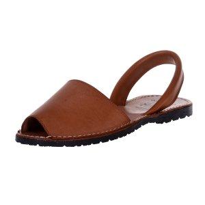 Sandale Piele Dama Avarca Maronii