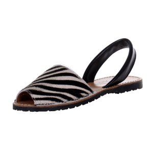 Sandale Dama Avarca Zebra White