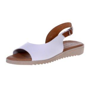 Sandale Joase de Dama Selena Albe