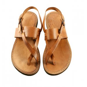Sandale Perla Coniac