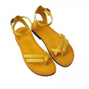 Sandale Romane de Dama Model Chiara Galben