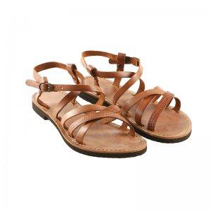 Sandale Romane de Dama Model Anita Maro Coniac