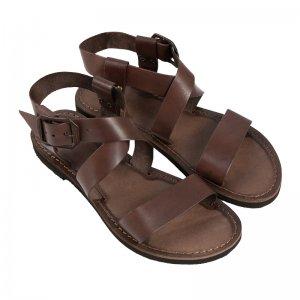 Sandale Romane de Dama Model Olimpia Maro