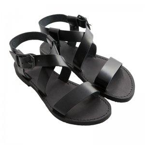 Sandale Romane de Dama Model Olimpia Negru