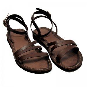 Sandale Romane de Dama Model Alma Chocolate