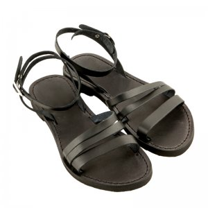 Sandale Romane de Dama Model Alma Negru