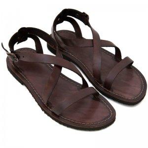 Sandale Romane de Dama Model Carlia Chocolate