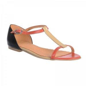 Sandale piele naturala Model Miranda Coral Nude - sau Orice Culoare