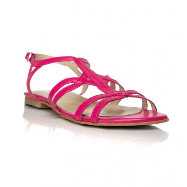 Sandale piele naturala Model A4 Roz - sau Orice Culoare