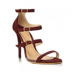 Sandale piele naturala N20-10 Burgundy - sau Orice Culoare