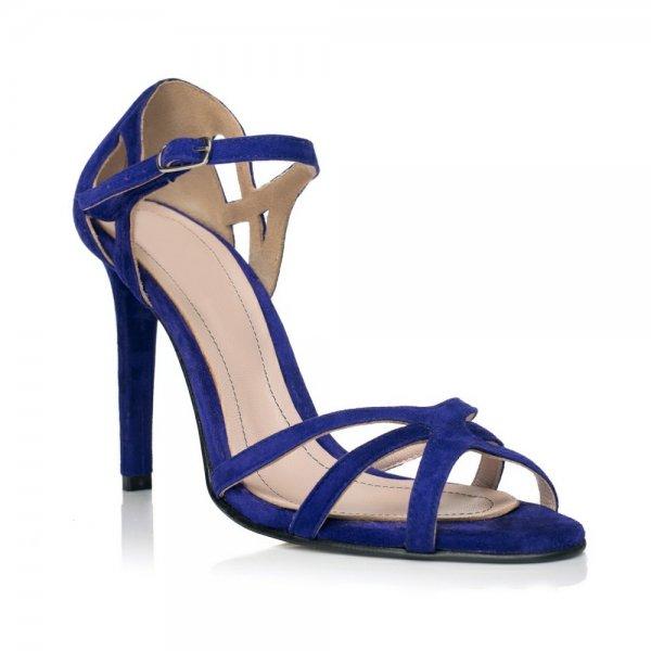 Sandale piele naturala intoarsa XN-10 Albastru - sau Orice Culoare