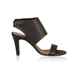 Sandale piele naturala FN-7CM Chocolate Auriu - sau Orice Culoare