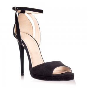 Sandale piele naturala intoarsa NX-10 Negru - sau Orice Culoare