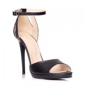Sandale piele naturala NX-10 Negru - sau Orice Culoare