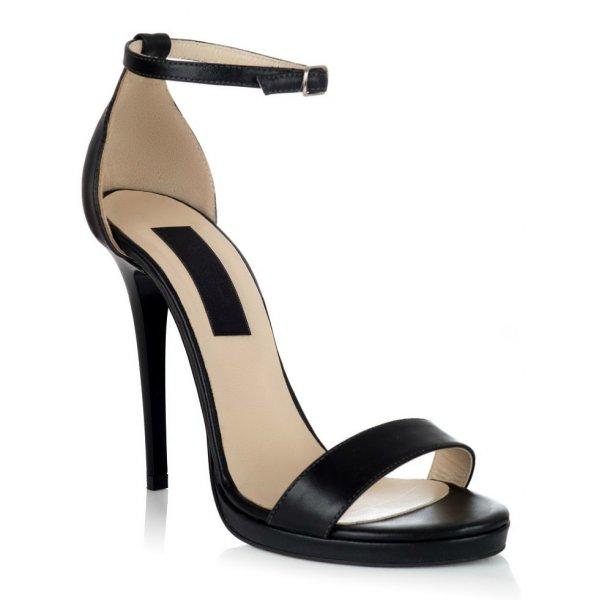 Sandale piele naturala TN-10 Negru - sau Orice Culoare