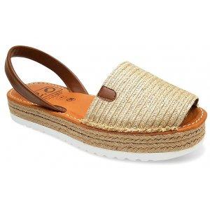 Sandale Platforma Dama Piele Avarca Retro