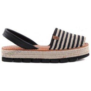 Sandale Dama Avarca C Cortuno Menorquinas Platforma din Piele