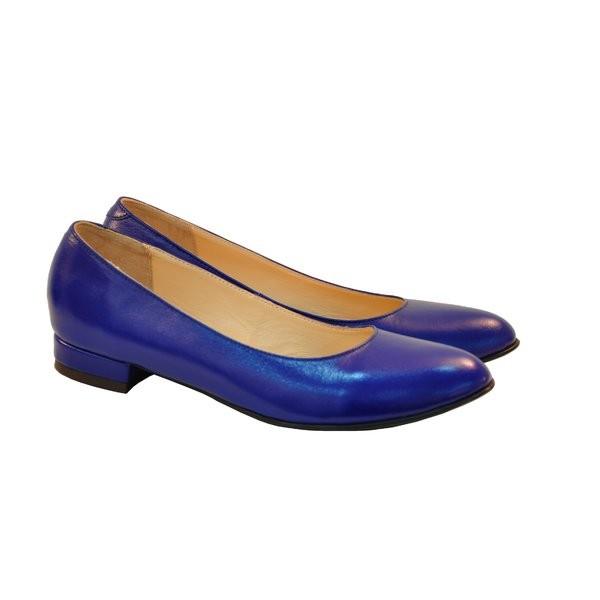Balerini piele naturala Tesa Albastru - sau Orice Culoare