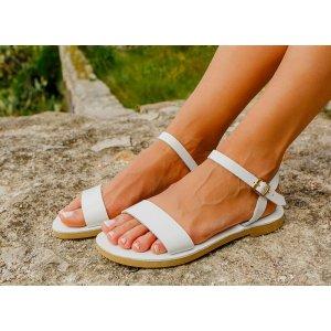 Sandale Dama Grecesti Callia Albe