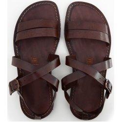 Sandale Barbati Cezare Piele Maro