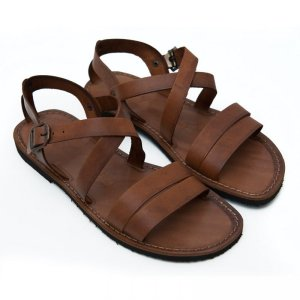 Sandale din Piele ptr Barbati Cezar