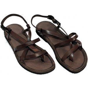 Sandale din Piele Barbatesti Maro Umberto Italia