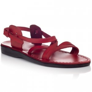Sandale Piele Naturala Clasic Rosii
