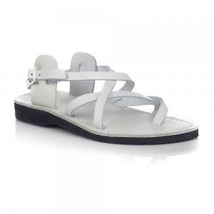 Sandale Piele Naturala Summer Albe