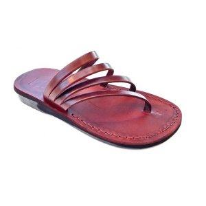 Sandale Spirala tip Papuc Unisex Maro Piele Naturala