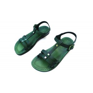 Sandale Piele Naturala Verzi Magdalena