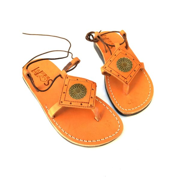 Sandale Aztec Sun Dama Piele Naturala Caramel