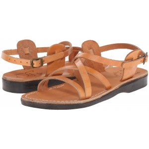 Sandale Clasic Piele Caramel