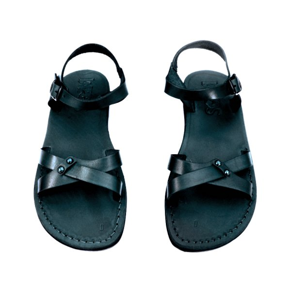 Sandale Dama din Piele Naturala Artemis Negre