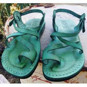 Sandale Verzi Dama Barbati Deget