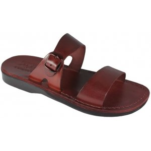 Sandale M Piele Naturala Ajustabile Gleza