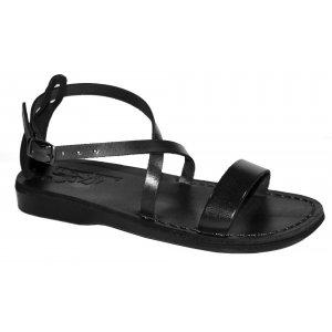 Sandale Dama din Piele Naturala Karla Negre