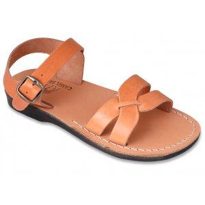 Sandale Piele Naturala Gladiator x Camel