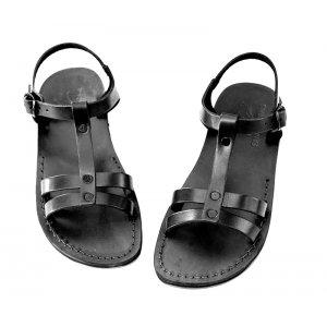 Sandale Piele Magdalena Negre